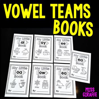 Vowel Teams Little Phonics Books Bundle