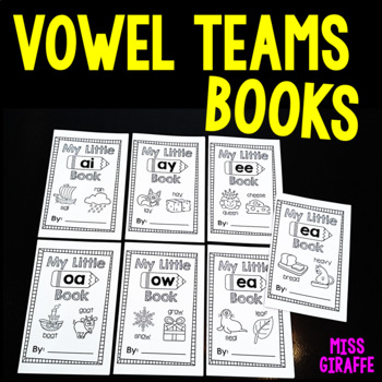 Vowel Teams Little Phonics Books Bundle