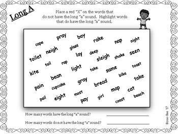 Long Vowels: Long A NO PREP