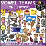 Vowel Teams - Long i Clip Art Bundle {Educlips Clipart}