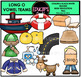 Vowel Teams - Long o Clip Art Bundle {Educlips Clipart}