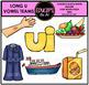 Vowel Teams - Long u Clip Art Bundle {Educlips Clipart}