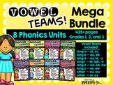 Vowel Teams! Mega Bundle: 8 Phonics Units