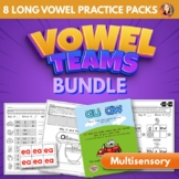 Vowel Teams Multisensory Word Work Bundle