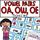 OA, OW, OE Phonics Activities