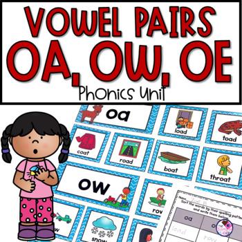 OA, OW, OE Phonics Activities