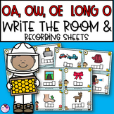OA, OW, OE Long O Write the Room