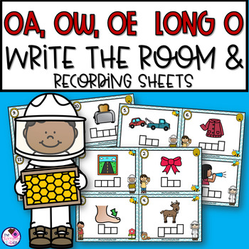 OA, OW, OE Long O Write the Room