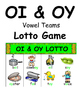 Vowel Teams OI and OY Literacy Centers