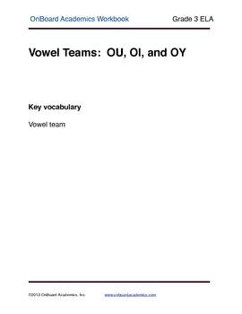 Vowel Teams OU OI OY