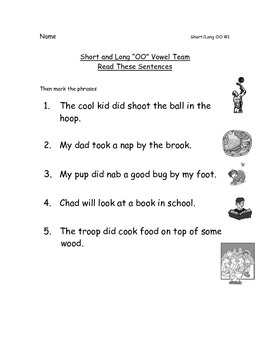 Reading Packets: 26-29 Vowel Teams OU/OW, OO, IGH, Vowel R