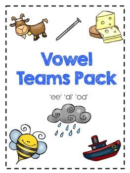 Vowel Teams Pack!