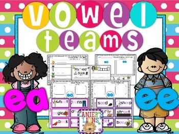 Vowel Teams Pack: EA & EE