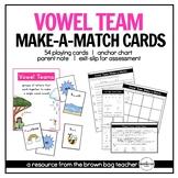 Vowel Teams: Phonics Make-a-Match Cards