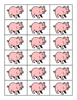 Vowel Teams Pig Game