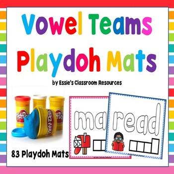 Vowel Teams Playdoh Mats