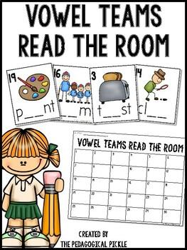 Vowel Teams Read the Room