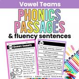 Vowel Teams Reading Passages & Fluency Sentences