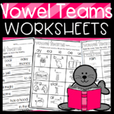 Vowel Teams Worksheets: Sorts, Cloze Sentences, and more!