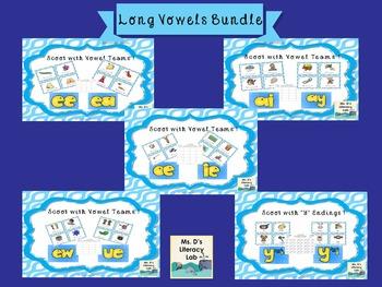 Vowel Teams Scoot (Bundle)