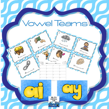 Vowel Teams Scoot (ai, ay)