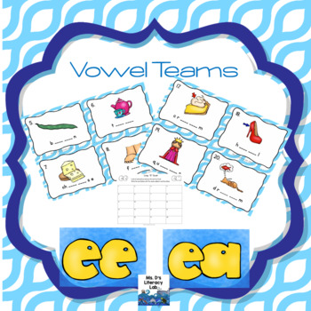 Vowel Teams Scoot (ee,ea)