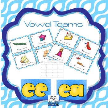 Vowel Teams Scoot (ee,ea)