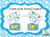 Vowel Teams Scoot (ie,oe)