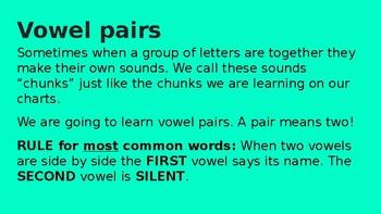 Vowel Teams Slides For Instruction