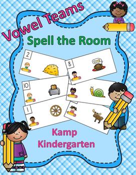 Vowel Teams Spell the Room