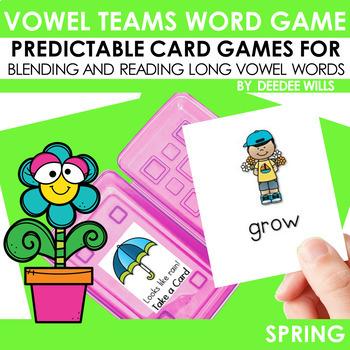 Vowel Teams:  Spring