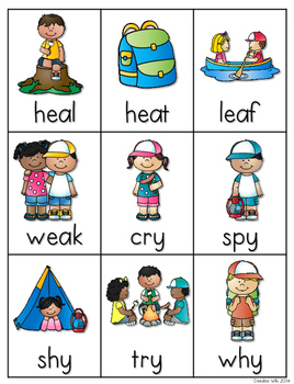Vowel Teams:  Summer