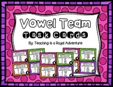Vowel Team Task Cards (Multiple Choice)
