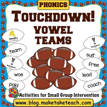 Vowel Teams - Touchdown!