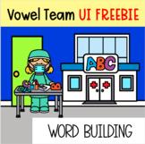 Vowel Team UI Preloaded Seesaw Digital Word Building FREEBIE
