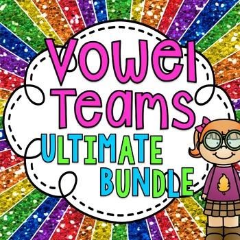 Vowel Teams ULTIMATE BUNDLE (Vowel Pairs Activities galore!)