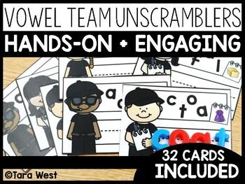 Vowel Teams Unscramblers