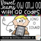 Vowel Teams With QR Codes- OW and OA (Long O Sound)