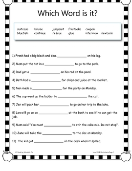 Vowel Teams - Word Building/Spelling Kit (Spellings for O, U) (OG)