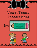 Vowel Teams Word Mats