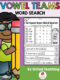 Vowel Teams: Word Search Bundle