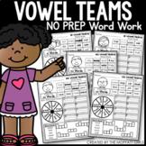 Vowel Teams Word Work
