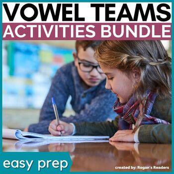Vowel Teams Word Work Bundle