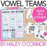 Vowel Teams and Diphthongs Printables, Centers, and Activities