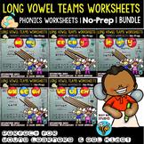 Vowel Teams Worksheets Bundle