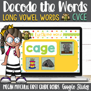 CVCE Turtle out the Words using Google Slides