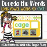 CVCE DECODE the Words using Google Slides