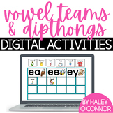 Vowel Teams and Diphthongs {Digital Videos and Activities}