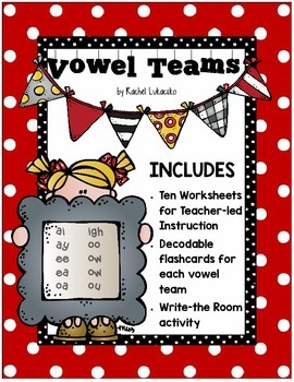 Vowel Teams and Irregular Vowels