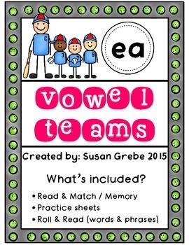 Vowel Teams - ea  (long e)